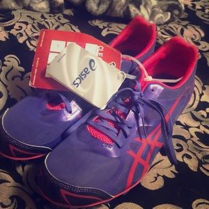 Brand New ASICS track shoes